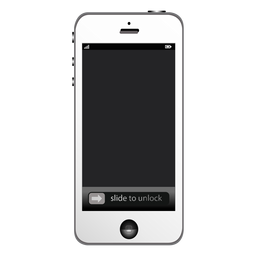 Apple iphone smartphone mockup