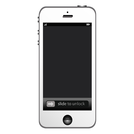 Apple iphone smartphone mockup Transparent PNG