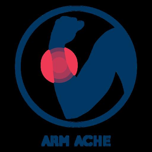 Arm ache icon Transparent PNG