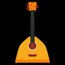 Balalaika russische Musikinstrumentikone