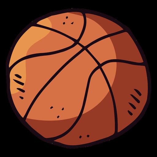 Basketball ball cartoon Transparent PNG