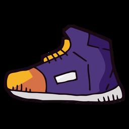 Dibujos animados de zapatillas de baloncesto