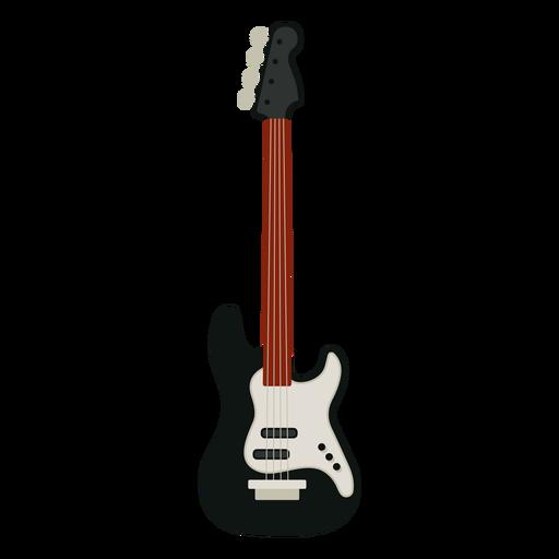 Icono de instrumento musical bajo guitarra Transparent PNG
