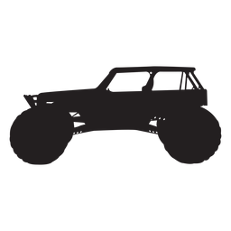 Bigfoot car silhouette