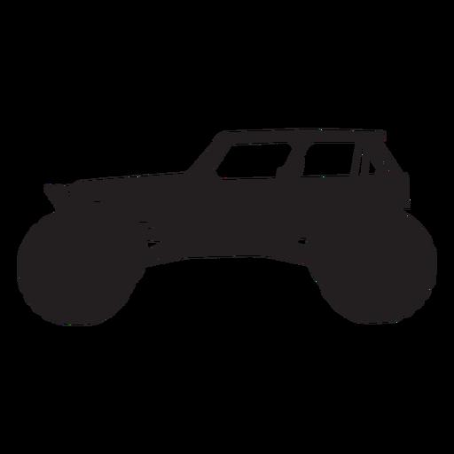 Bigfoot car silhouette Transparent PNG