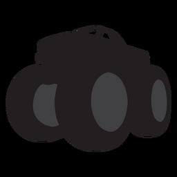 Silhueta de caminhão monstro Bigfoot