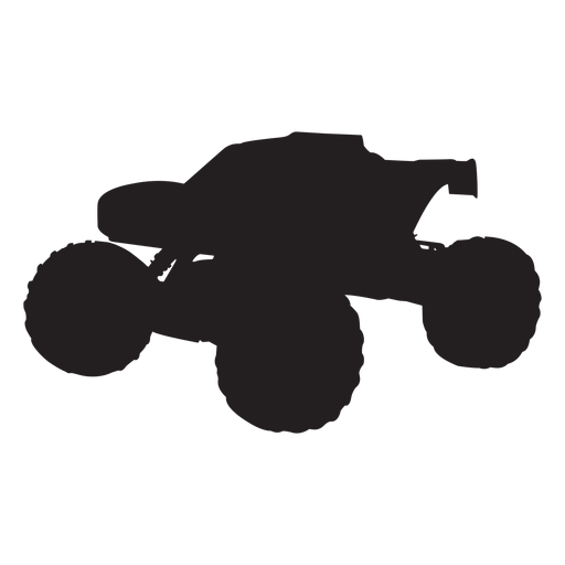 Bigfoot truck silhouette Transparent PNG