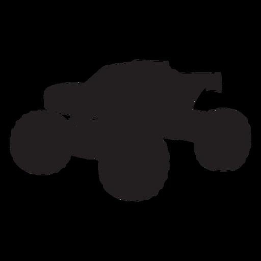 Silhueta de caminhão Bigfoot Transparent PNG