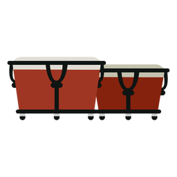 Bongos ícone de instrumento musical