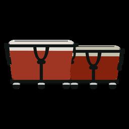 Bongos Musikinstrument-Symbol
