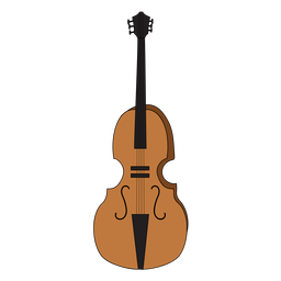 Violonchelo violoncello instrumento musical doodle.