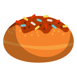 Donut de chocolate