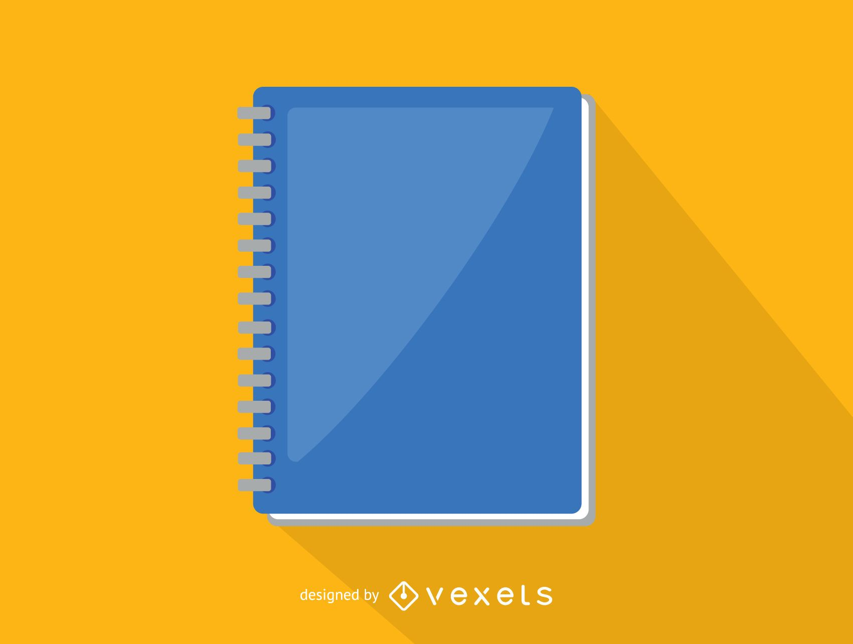 Office spiral notebook icon - Vector download