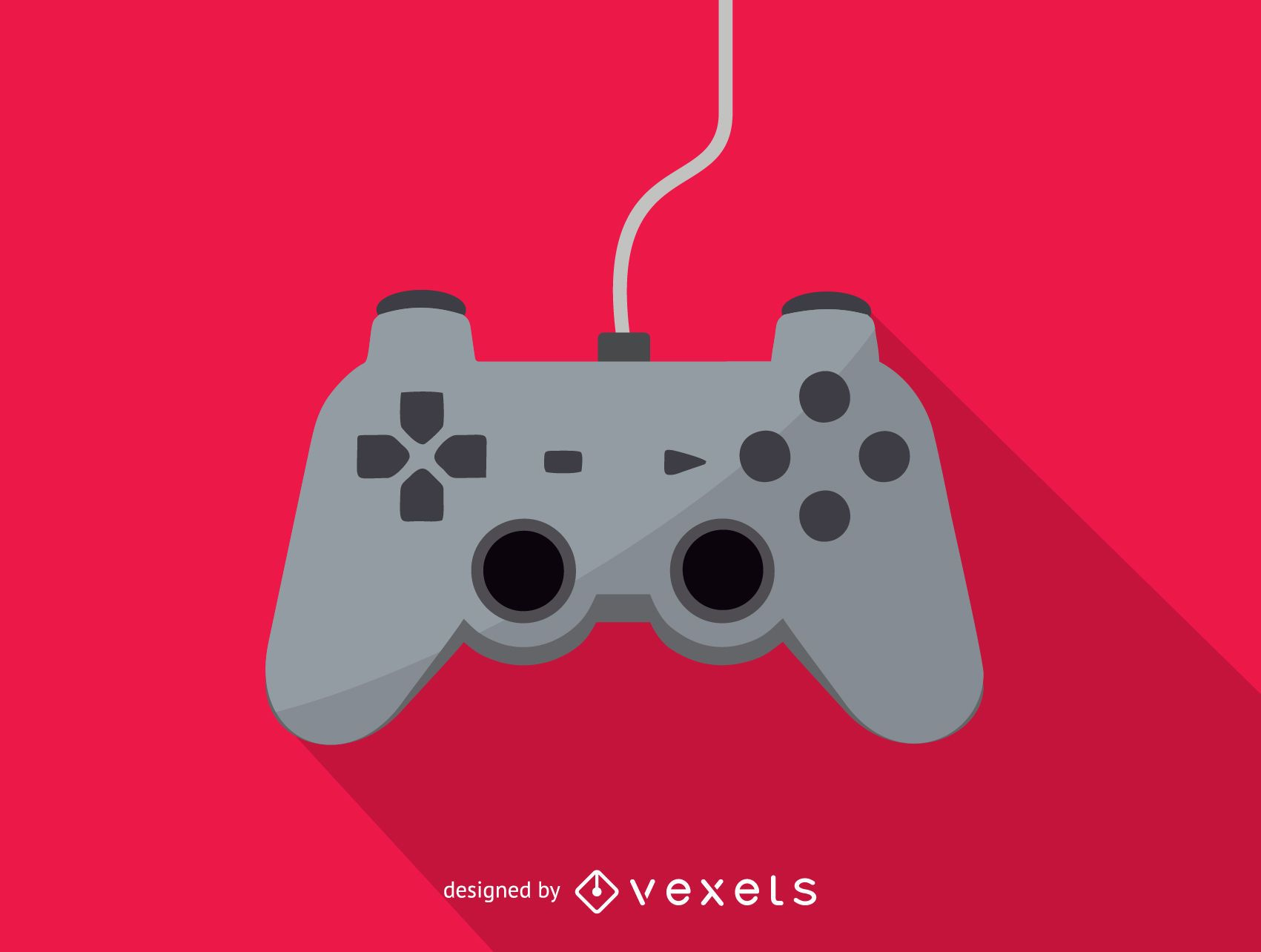 Gaming console joystick icon - Vector download