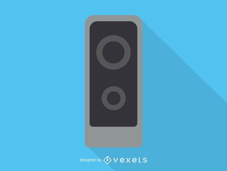 Ícone de alto-falante de áudio