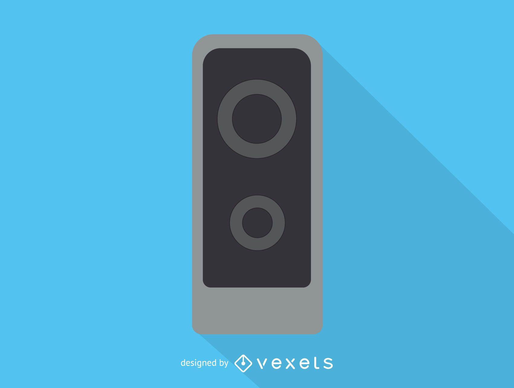 Icono de altavoz de audio