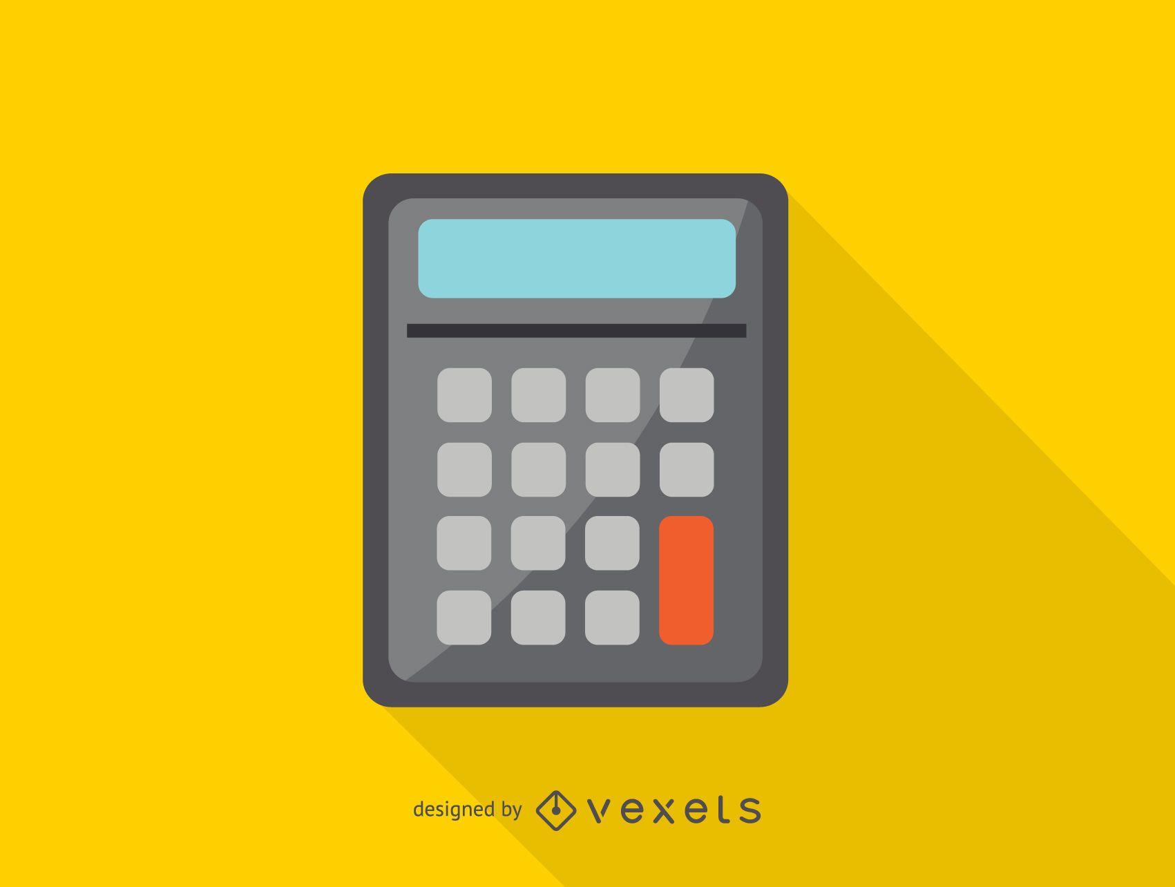 Icono de calculadora simple
