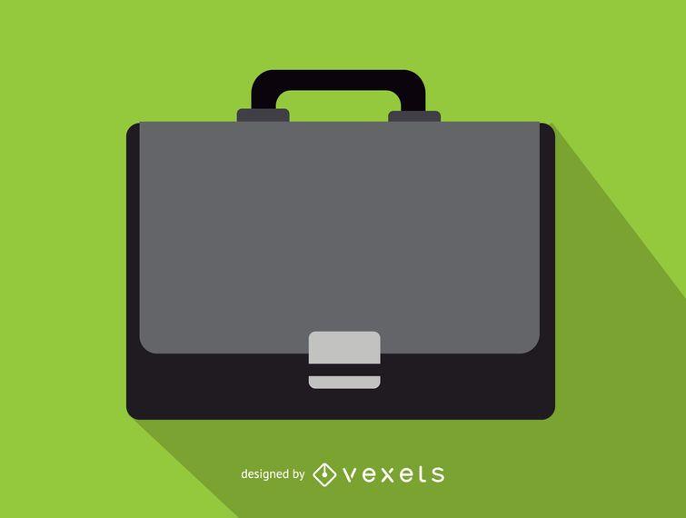 Icono de maletín de oficina de negocios