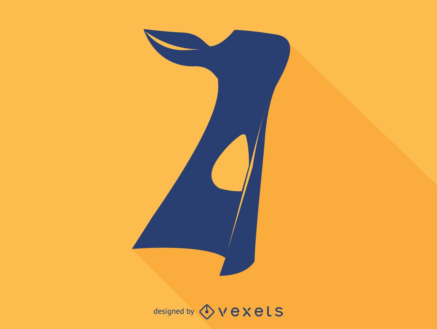 Karim Rashid chair silhouette icon