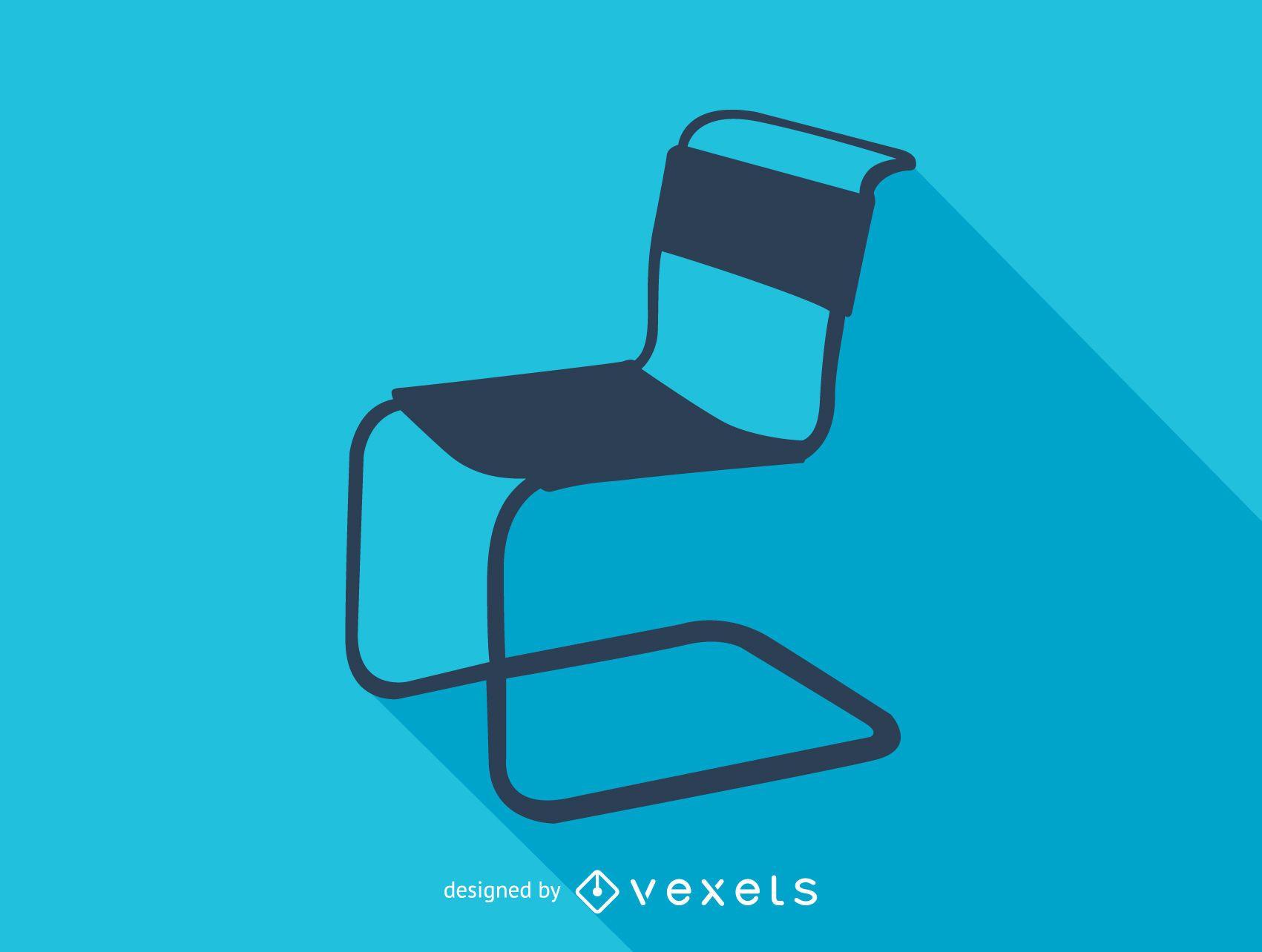 Marcel Breuer Spoleto chair silhouette