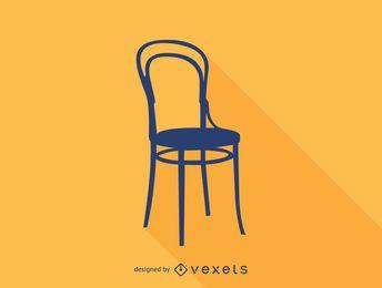 Tonet No 14 chair silhouette