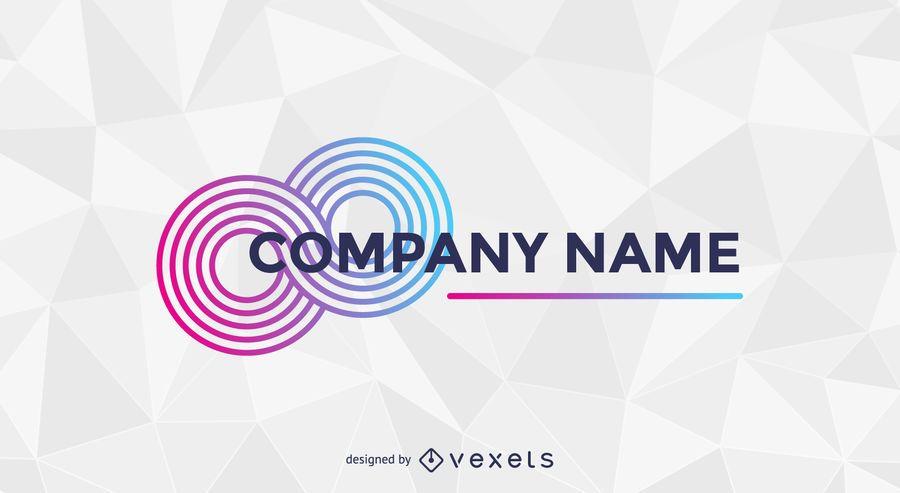 Logotipo negócio abstrato