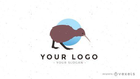 Logotipo do pássaro Kiwi