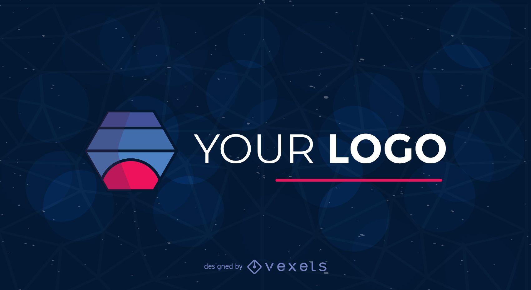 Logotipo de empresa de tecnología