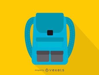 Icono de mochila de viaje