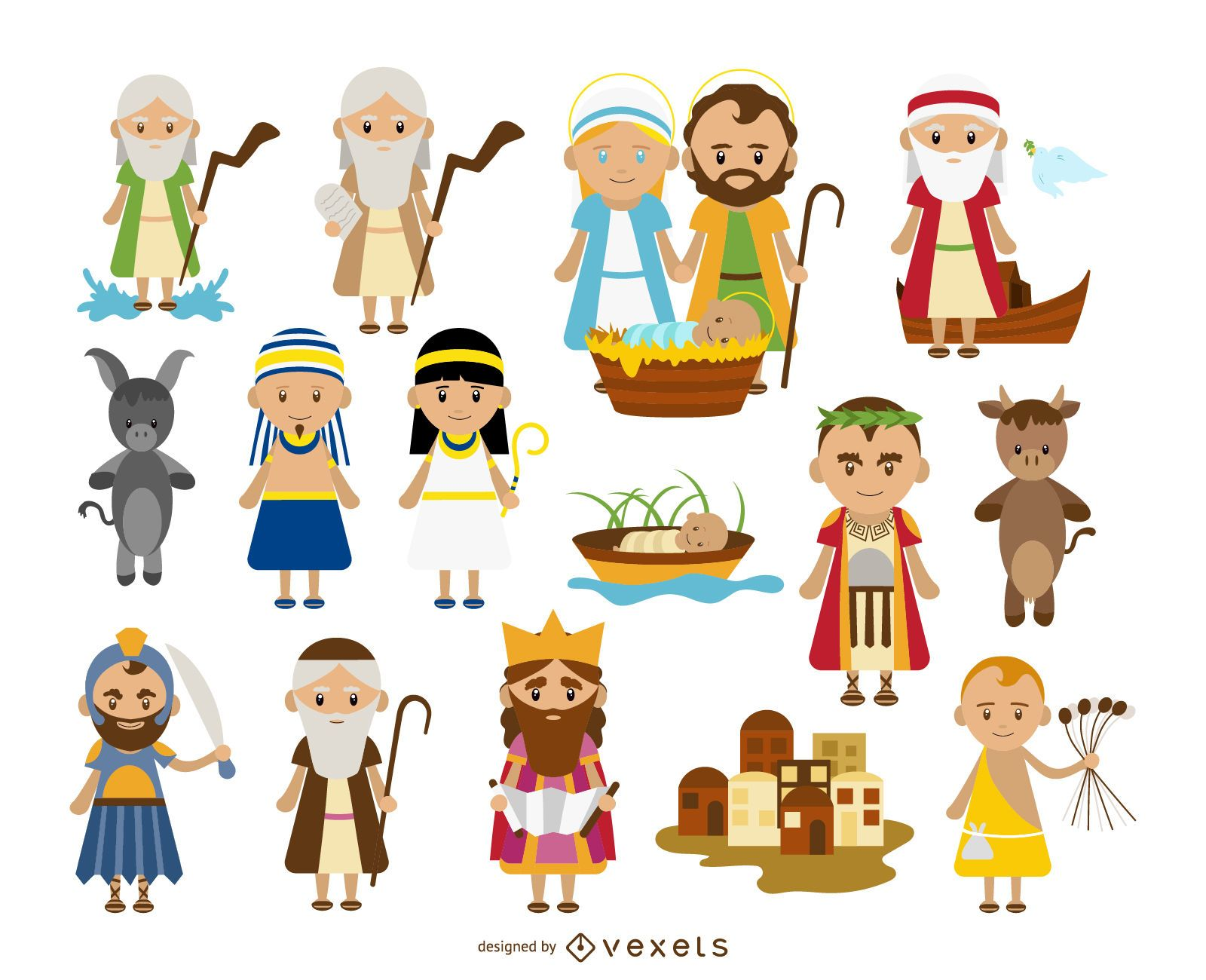 Witty image for printable bible characters