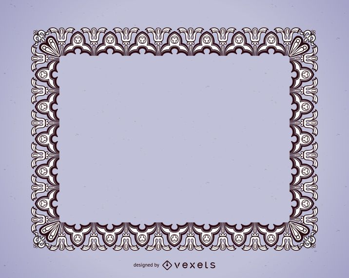 Detailed picture frame