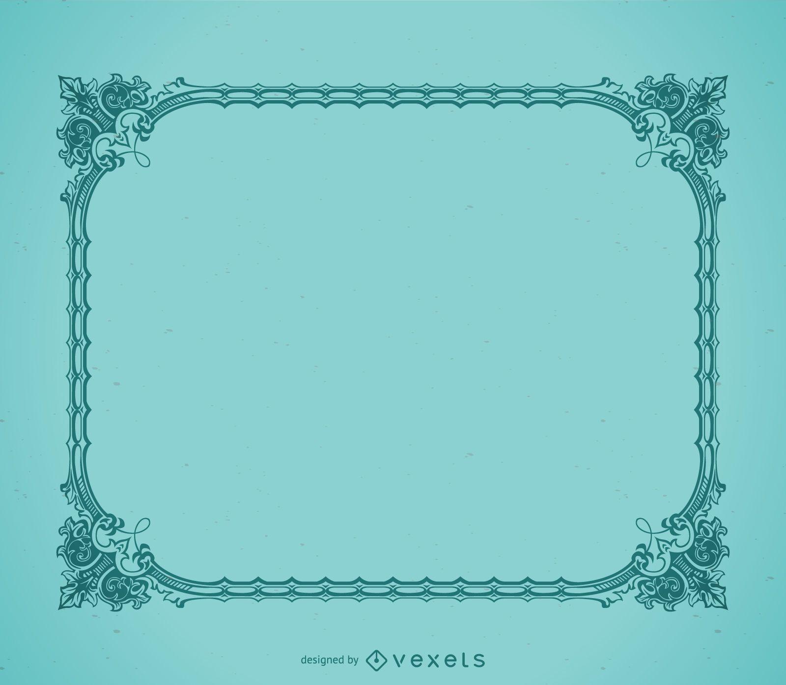 Elegant decorative picture frame