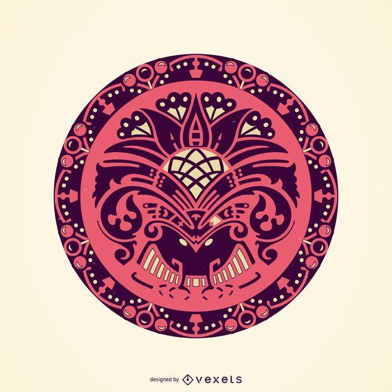 Circle decorative ornament