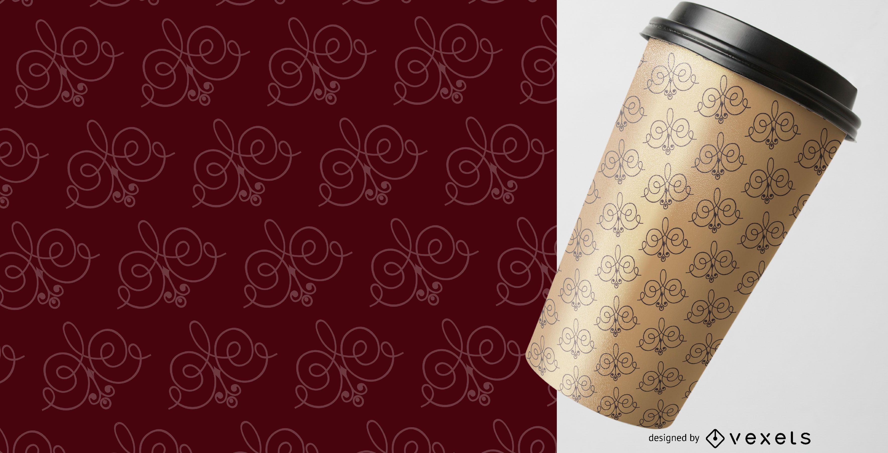 Elegant detailed ornaments pattern