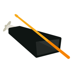 Cowbell musical instrument icon