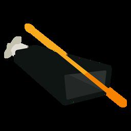 Icono de instrumento musical cencerro