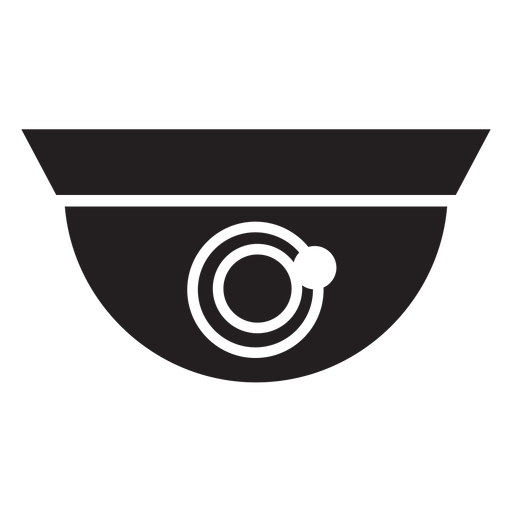 Dome security camera flat icon Transparent PNG