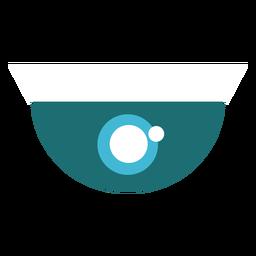 Ilustración de cámara de seguridad de cúpula