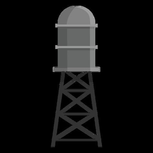Ícone de tanque de armazenamento de água elevado Transparent PNG