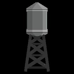 Icono de tanque de agua elevado