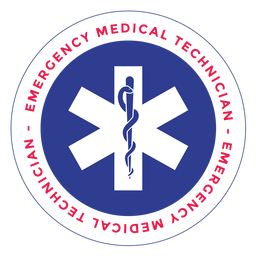 Emergency medical technician logo