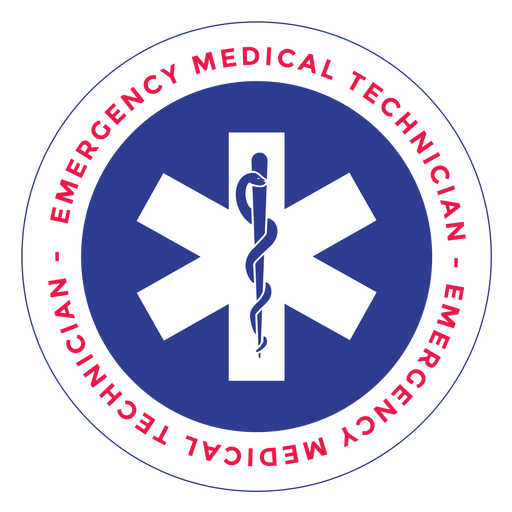 Emergency medical technician logo Transparent PNG