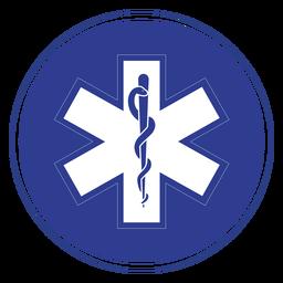 Emblema de paramédico Emt