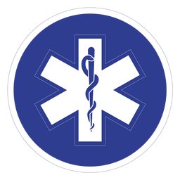 Emt paramedic badge