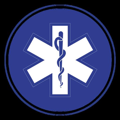 Emt paramedic badge Transparent PNG