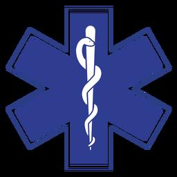 Logotipo paramédico de Emt