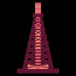 Extracción de gasolina de la torre
