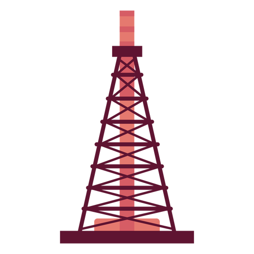 Extraction tower petrol Transparent PNG