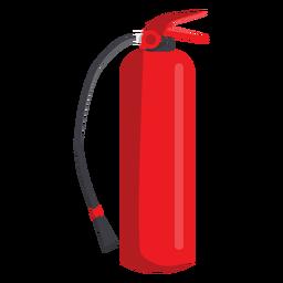 Ilustración de extintor de incendios