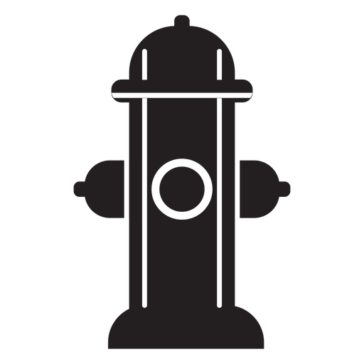 Fire hydrant icon Transparent PNG